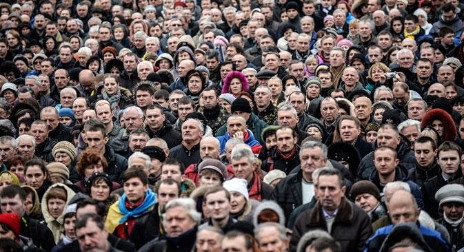 De acordo com uma pesquisa feita pela Companhia de Seguros Rosgosstrakha, a vida humana é avaliada em US$ 100.000 Foto: AFP/East News