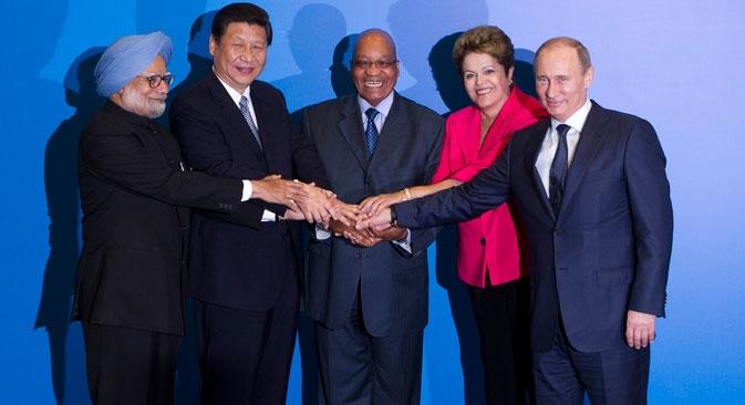 Países dos Brics estão caminhando para a intensificação dos investimentos mútuos Foto: Reuters
