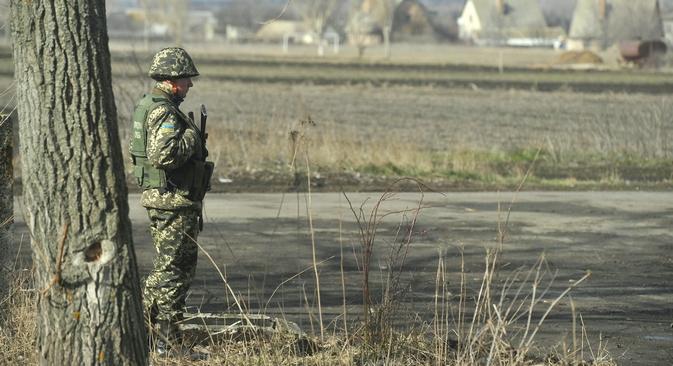 Ao regressar a Donetsk, nota-se que nenhuma medida especial de segurança vem sendo tomada na cidade ao longo das últimas semanas Foto: ITAR-TASS