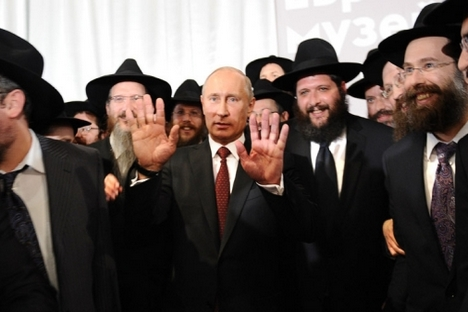 A Rússia continua no grupo de países com nível mínimo de antissemitismo Foto: AFP/East News