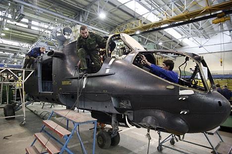 Complexo terá plataforma para a produção de helicóptero de alta velocidade Foto: Photoshot/Vostock-Photo