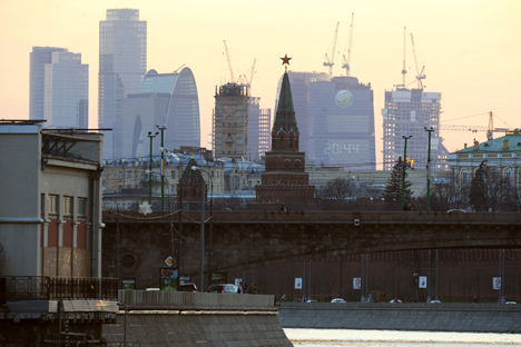 A continuação da crise política russo-ucraniana seria capaz de diminuir a acessibilidade do crédito, aumentar o prêmio de risco e refluxo de investimentos Foto: Kommersant