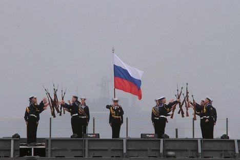"""Vitko: """"Aviação é um componente vital de qualquer força de ataque naval"""" Foto: Reuters"""