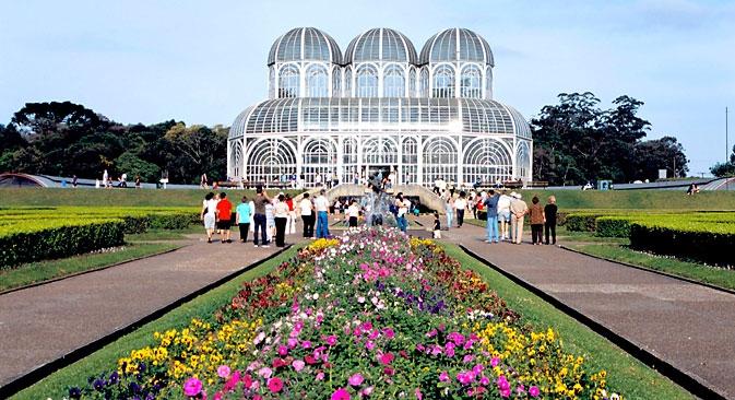 Estufa do Jardim Botânico é um dos principais cartões postais da cidade Foto: Alamy / Legion Media