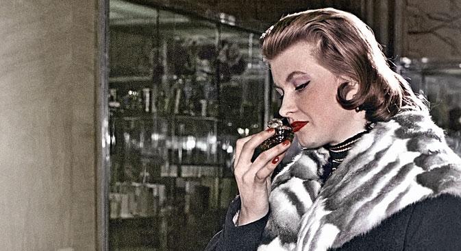 Dizem que antigamente todas as mulheres usavam o mesmo perfume porque não tinham escolha Foto: RIA Nóvosti