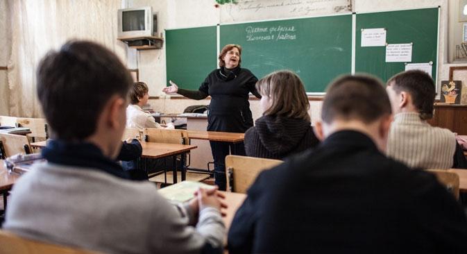 Atualmente, na Rússia, existem escolas com perfil artístico, técnico e físico-matemático, nas quais se inicia uma formação especial desde as séries iniciais Foto: RG