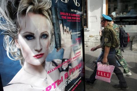 Em 2008, a cantora francesa assinou um contrato de dois anos com a rede de lojas de cosméticos L'Etoile Foto: Aleksêi Furman/RIA Nóvosti