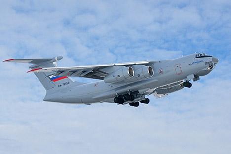 A-100 está sendo criado com base no IL-476 em cooperação entre empresas da indústria militar russa Foto: divulgação