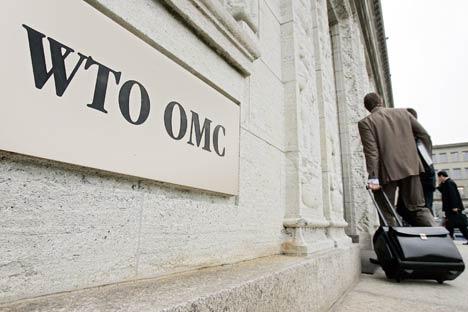Atualmente, 98% do comércio mundial é controlado por normas expedidas pela OMC Foto: AFP/East News