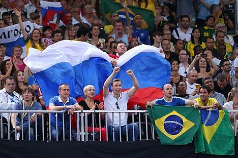 Cerca de 20 mil russos viajarão para o Brasil no período da Copa Foto: Lori / Legion Media