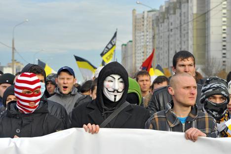 Número de entrevistados que disseram que todos os cidadãos da Rússia devem ter direitos iguais subiu 20% desde o ano passado Foto: Kommersant