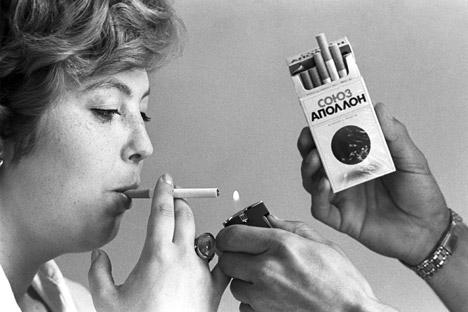 Tabaco tornou-se popular entre as mulheres russas no século 19 Foto: ITAR-TASS