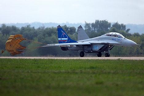 As perspectivas de exportação do MiG-35 são grandes Foto: Iliá Pitalev/RIA Nóvosti