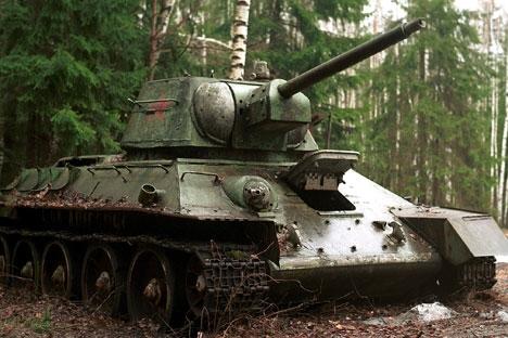 7 tanques lendários de fabricação soviética width=