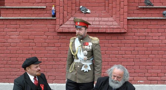 Houve centenas de pessoas que tentaram se fazer passar por membros da família do tsar que sobreviveram ao fuzilamento Foto: RIA Nóvosti