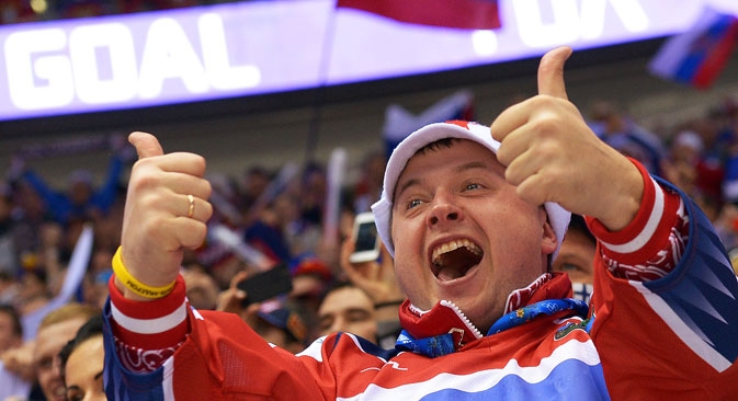 Gazeta Russa decifrou a língua gestual popular russa Foto: RIA Nóvosti