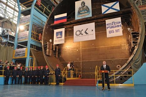 Mnistério da Defesa pretende construir 16 novos veículos modernos para forças nucleares estratégicas até 2020 Foto: Aleksêi Nikólski/RIA Nóvosti