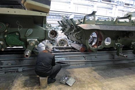 Rússia ocupa o segundo lugar no mundo em termos de volume de exportação de armamento e equipamento militar Foto: RIA Nóvosti