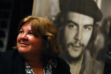 Em visita à capital russa, Aleida Guevara participou de reuniões com diplomatas latino-americanos Foto: Reuters