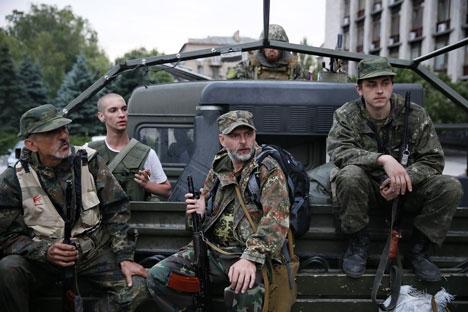 Ações ativas e concertadas do Exército ucraniano permitirão concluir a parte militar da operação em um mês Foto: ITAR-TASS