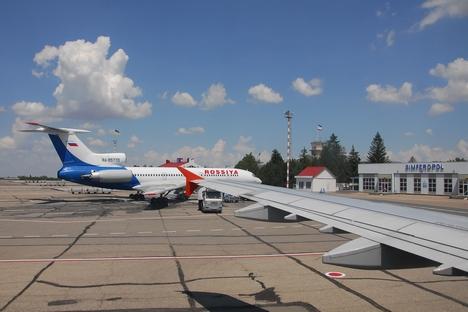 Os voos internacionais que eram operados pelas companhias europeias passaram a ser realizados por 15 empresas russas Foto: Lori / Legion Media