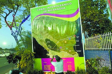 Canal da Nicarágua será o mais profundo, largo e longo do mundo Foto: Ministério dos Negócios Estrangeiros da Rússia