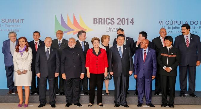Os líderes discutiram, entre outros assuntos, a inclusão social com desenvolvimento sustentável Foto: Palácio do Planalto