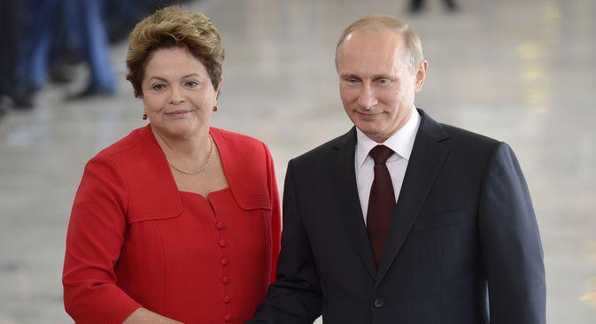 """Vladímir Pútin elogiou o """"alto nível"""" da organização da Copa do Mundo no Brasil Foto: Wilson Dias/Agência Brasil"""