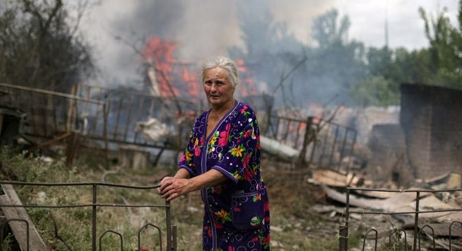 Os refugiados estão sendo colocados em abrigos, e os hotéis privados da região oferecem moradia por preços simbólicos Foto: Photoshot/Vostock-Photo