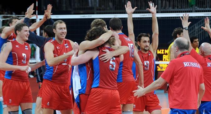 Seleção russa é atual campeã da Liga Foto: ITAR-TASS
