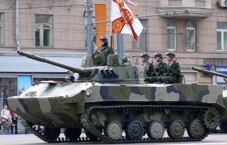 BMD-4M são aptos a percorrer uma distância de até 500 quilômetros sem abastecer Foto: wikipedia.org