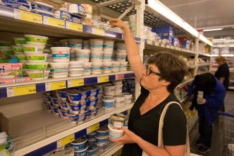 A curto prazo, a restrição das importações provavelmente não levará a quaisquer consequências negativas graves para o mercado russo Foto: Getty Images/Fotobank