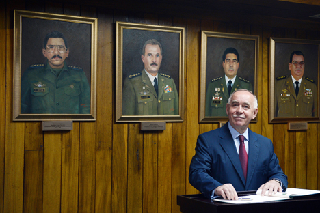 Diretor do Serviço Federal de Controle de Tráfico de Drogas, Víkor Ivanov Foto: Evguêni Beiatov / RIA Nóvosti