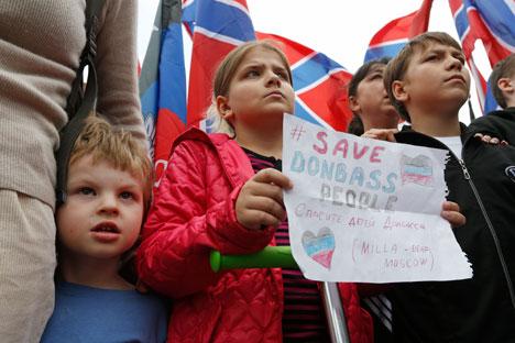 """Se as ações com relação à Crimeia foram compreendias de forma positiva pela maior parte da comunidade internacional, a intervenção militar direta na Ucrânia """"irá privar a Rússia do apoio dos centros de poder periféricos que ainda simpatizam com a causa ucraniana"""", explica especialista Foto: Reuters"""