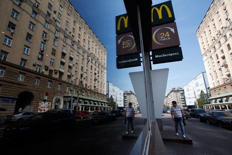 Rede McDonald's possui 438 estabelecimentos espalhados pelo país Foto: Reuters