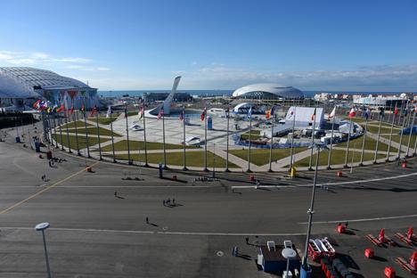 Cidade russa de Sôtchi recebeu os Jogos Olímpicos e Paralímpicos de Inverno em fevereiro e março de 2014 Foto: Vladímir Pésnia