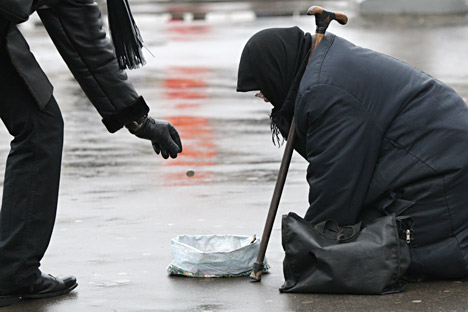 Especialistas consideram que existem algumas medidas que podem melhorar a situação dos sem-teto na Rússia. A Igreja Ortodoxa Russa, por exemplo, poderia ser mais atuante Foto: Valérii Mélnikov / RIA Nóvosti