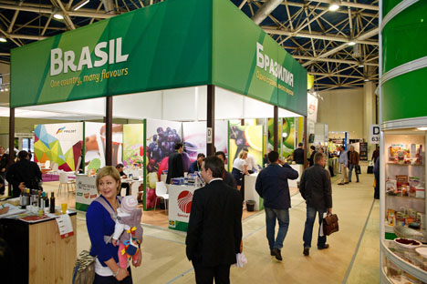 World Food Moscow, que ocorre de 15 a 18 de setembro, e a United Coffee and Tee Industry Event, de 15 a 16 de setembro, servirão de vitrines para potenciais players no cobiçado mercado do Leste europeu Foto: Press Photo