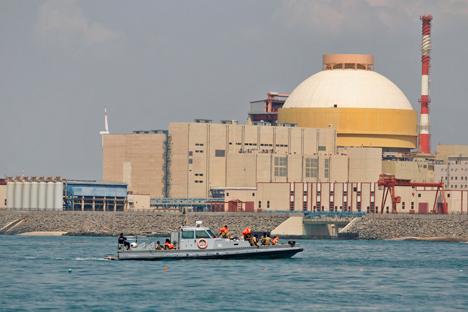 Primeiras duas unidades da usina já têm capacidade elétrica de 1.000 megawatts Foto: AP