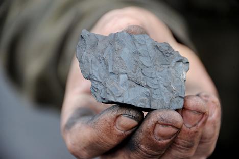 Lutas travadas no sudeste da Ucrânia levaram à destruição das minas de carvão e ferrovias Foto: Evguêni Iepantchintsev / RIA Nóvosti