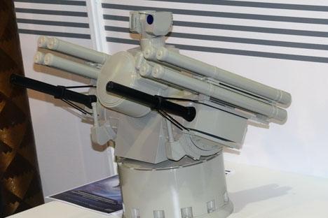 O Panstir-M não será o único sistema operacional antiaéreo moderno em operação na Marinha russa Foto: Press Photo