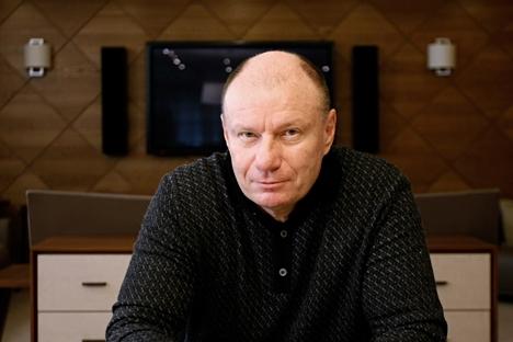 """""""Acho que as sanções são uma arma prejudicial para todos as partes"""", diz Potánin Foto: Press Photo"""