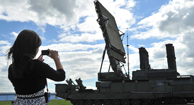 A cooperação técnico-militar entre Moscou e Cairo permanecia estagnada há algum tempoFoto: Ramil Sitdikov
