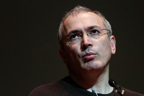 """Para desenvolver seu projeto de oposição, Khodorkóvski apostará em uma """"aliança horizontal"""" Foto: Reuters"""