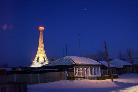 """Na aldeia da """"Paris dos Urais"""" há apenas 2.500 habitantes Foto: ITAR-TASS"""