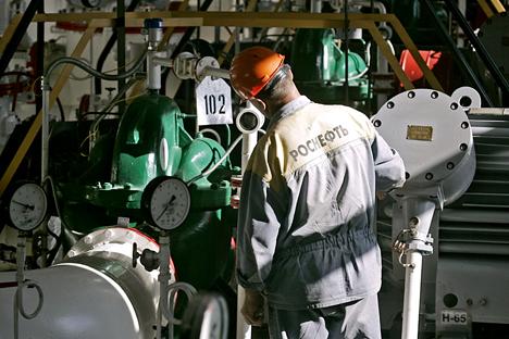 Petrolífera americana abandonou 9 de 10 projetos conjuntos por causa das recentes sanções Foto: ITAR-TASS