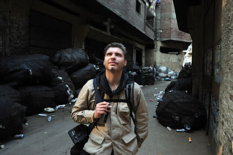 """Parecia que Andrêi só vivia verdadeiramente lá, debaixo de fogo"" Foto: Vassíli Maksímov/RIA Nóvosti"