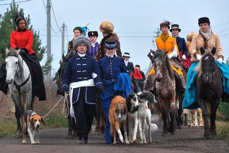 A participação em festivais é apenas a ponta do iceberg para os recriadores históricos Foto: Artiom Jítenev/RIA Nóvosti