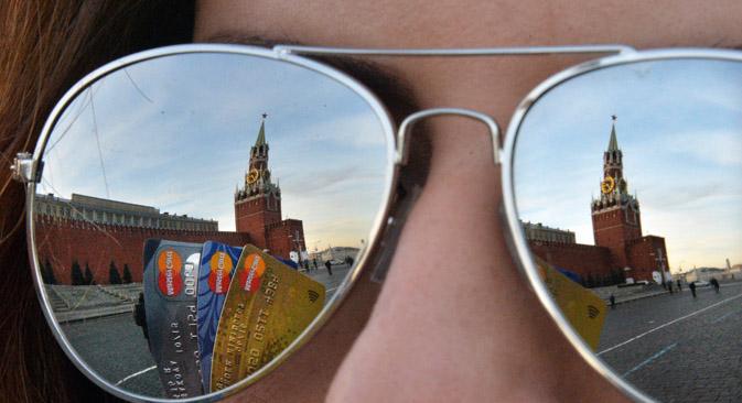 Com a nova rodada de sanções aprovada pela UE, as instituições financeiras russas perdem o acesso aos mercados de crédito, tanto europeus, como americanosFoto: Kommersant