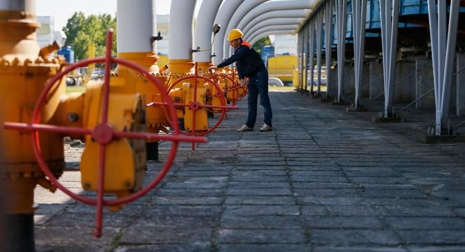 De acordo com a avaliação da Gazprom, durante o pico de consumo de gás no inverno ucraniano, o deficit poderá oscilar entre 140 e 220 milhões de metros cúbicos por dia Foto: Reuters